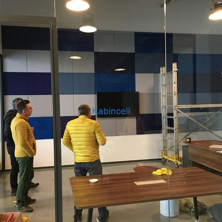 Teknik Akustik Ofis Akustik tavan ve Duvar Panelleri