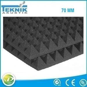 Akustik Piramit Sünger 70 MM