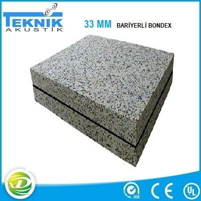 Bariyerli Bondex 33 MM