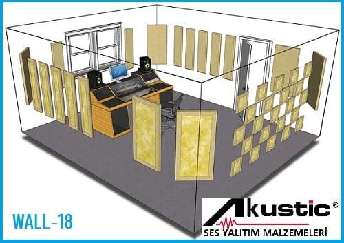 Akustik Oda Kiti Wall 18